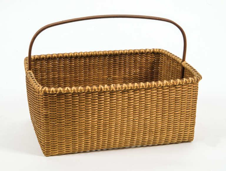 20th C. Shaker Style Basket