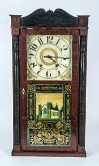 19th C. Shelf Clock