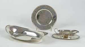 Four Sterling Pieces