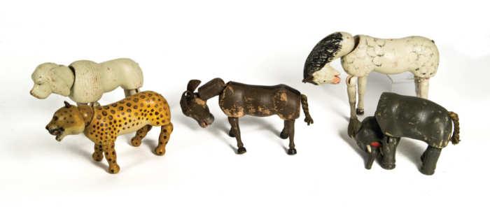 Schoenhut Carved Toy Animals
