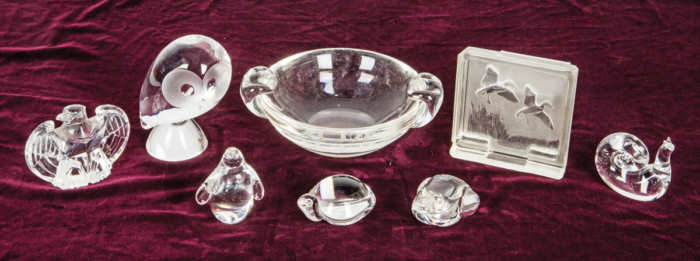 Steuben Glass Collection