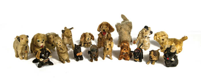 Wind-Up Toy Dog Collection