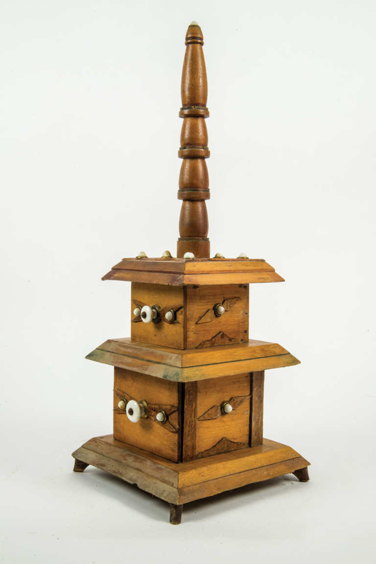 Two Early 20th C. Pine Whimseys