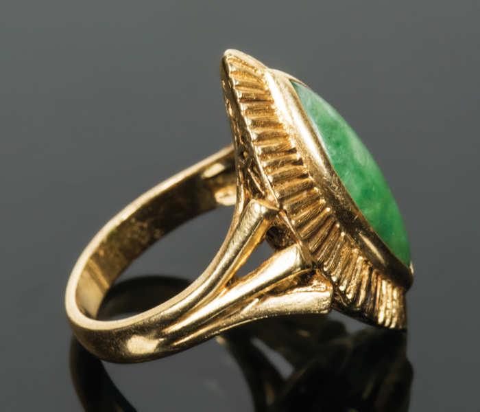 Ladies Gold Ring
