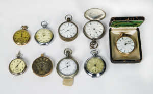 Pocket Watches and Pedometer