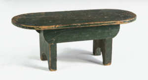 Three 19th C. New England Footstools