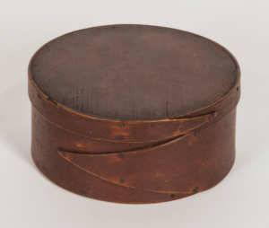 19th C. Round Pantry Box