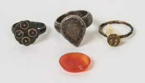 Ancient Rings, and Carnelian