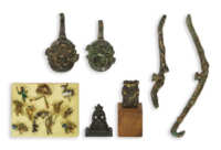 Chinese Bronze Items