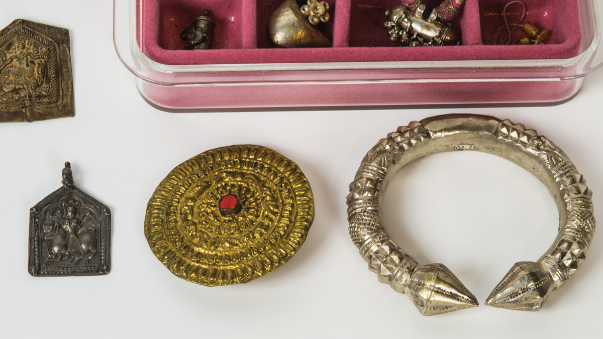 Large Collection of Silver Indian Jewelry