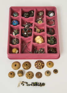 Collection of Beads and Jewelry