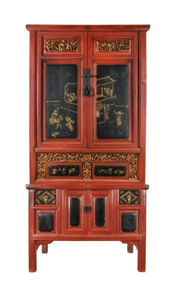 Chinese Two-Part Cupboard