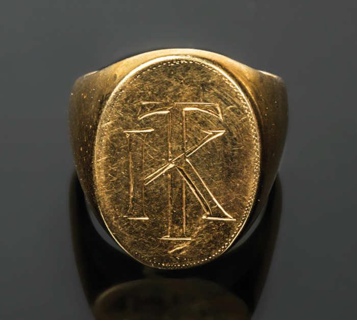 Gentleman's Gold Ring