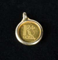 Gold Pendant/Coin