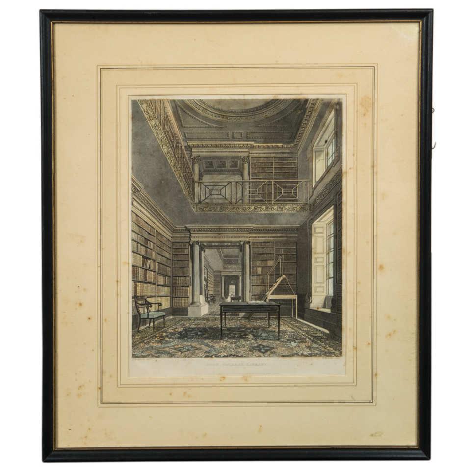 Prints of Libraries