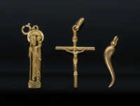 Three Gold Pendants