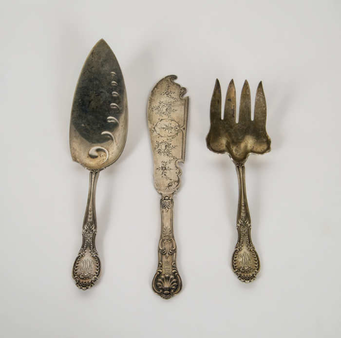 Sterling Silver Victorian Pieces