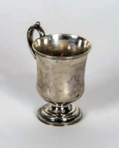 Coin Silver Cup