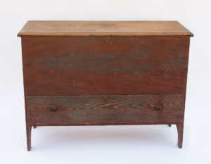 19th C. New England Blanket Chest