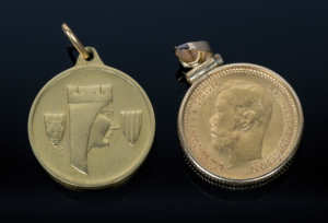 Two Gold Pendants